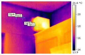 corner thermal problems